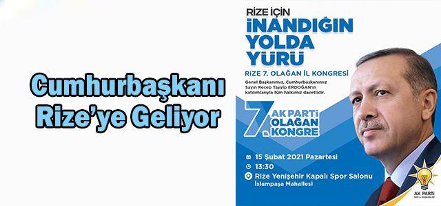 Cumhurbaşkanı Recep Tayyip Erdoğan'ın Programı Netlik Kazandı