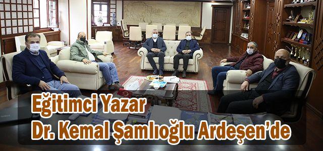 Eğitimci Yazar Dr. Kemal Şamlıoğlu Ardeşen'de