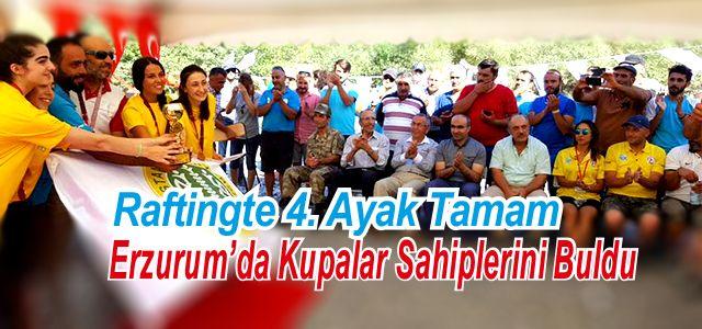 Erzurum Pazaryolu Belediyesi Ev Sahipliğinde R4 Rafting Türkiye 4. Ayak Yarışları Tamamlandı
