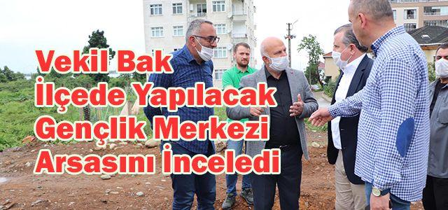 Gençlik ve Spor Eski Bakanı ve Rize Milletvekili Osman Aşkın Bak Ardeşen'de