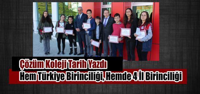 Hamidiye Çözüm Koleji Öğrencisi Türkiye Birincisi Oldu