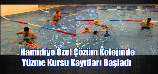 Hamidiye Özel Çözüm Kolejinde Yüzme Kursu Kayıtları Başladı.