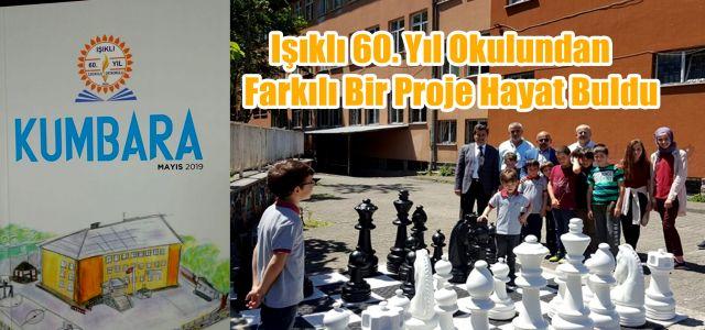Işıklı 60. Yıl Okulundan Farkındalık Projesi Hareketi Alkış Aldı