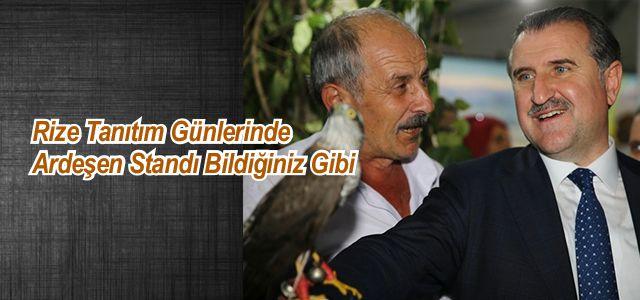 İstanbul Maltepe'de düzenlenen 10'uncu Rize Tanıtım Günlerinde Ardeşen Standı Yine İlgi Odağı Oldu