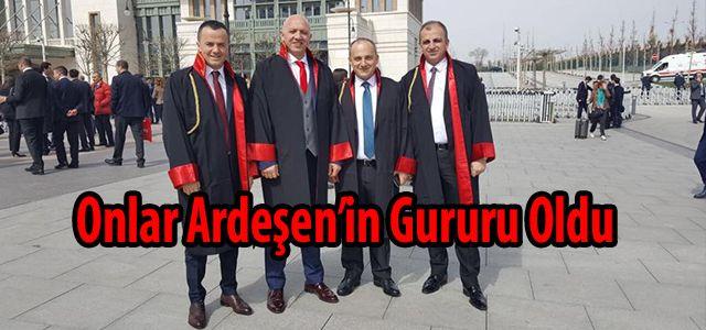 İşte Rize ve Ardeşen'in Yeni Hakim ve Savcıları