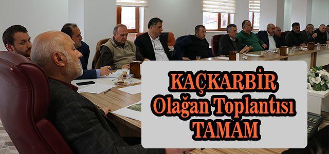 KAÇKARBİR Üye Belediye Başkanları Olağan Toplantı İçin Bir Araya Geldi
