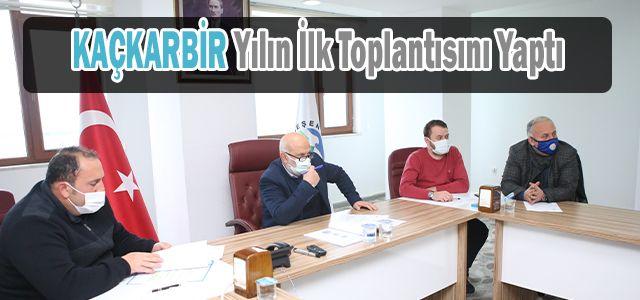 KAÇKARBİR Üye Belediye Başkanlarının Katılımlarıyla 2021 Yılı İlk Toplantısı Ardeşen'de Yapıldı