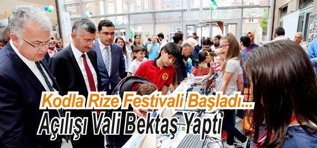 KodlaRize Festivali Başladı