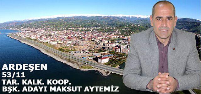 Maksut Aytemiz, kooperatifi başkanlığına adaylığını açıkladı