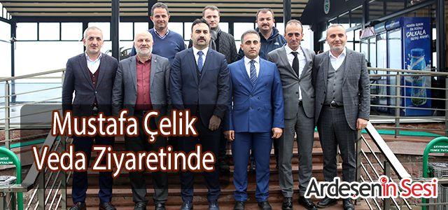 Mustafa Çelik Veda Ziyaretlerinde Bulundu