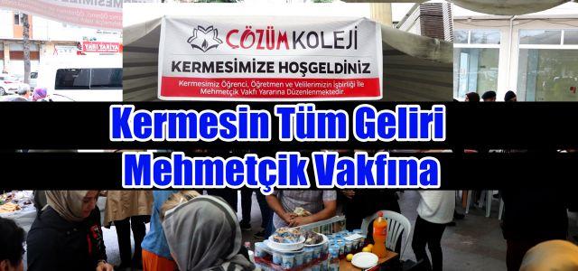 Özel Çözüm Koleji'nden Mehmetçik Vakfı Yararına Kermes