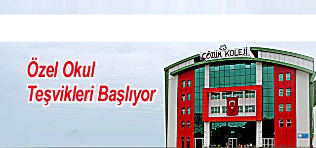 ÖZEL OKUL DEVLET DESTEĞİ BAŞLIYOR...