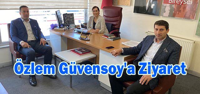 Özlem Güvensoy'a Ziyaret