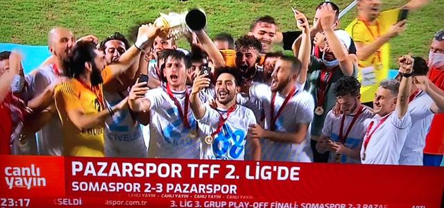 Pazarspor, TFF 2'nci Lig'de