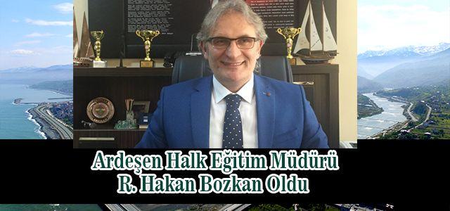 R. Hakan Bozkan Halk Eğitim Müdürü Olarak  Göreve Başladı