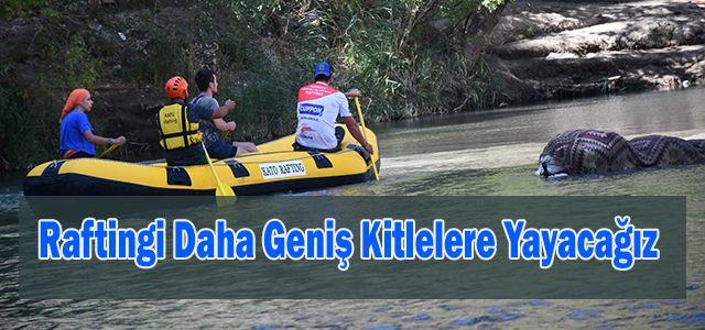 Rafting 1. Kademe Antrenörlük Kursunda Sınav Heyecanı.