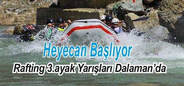 Rafting Türkiye Şampiyonası 3. Ayağı Muğla'da Yapılacak