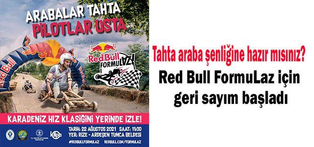 Red Bull FormuLaz için geri sayım başladı