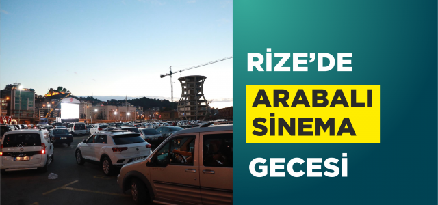 """Rizeliler arabada """"Cep Herkülü: Naim Süleymanoğlu"""" filmini izledi"""