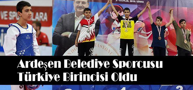 Sivas'ta Yapılan Turnuvanın Şampiyonu Ardeşen'li Gültekin Oldu