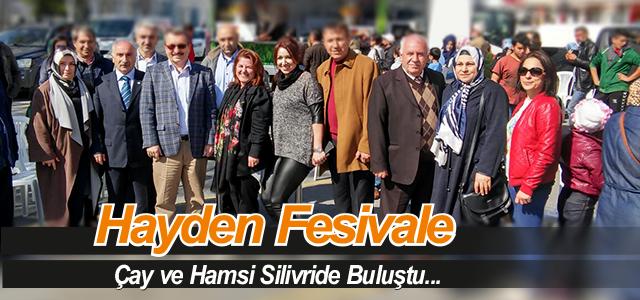 Sütlüoğlu Silivri Hamsi ve Horon Festivali'nde