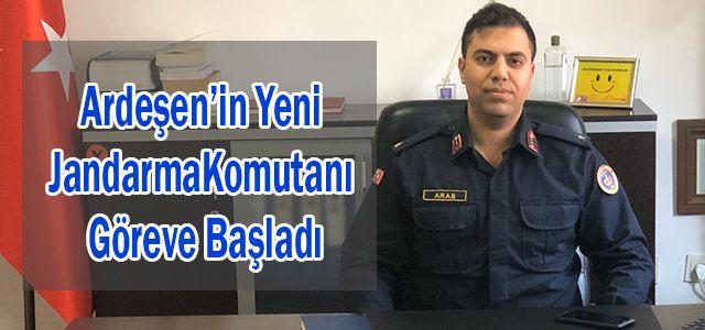 Teğmen Erdi Aras Ardeşen İlçe Jandarma Komutanı Olarak Vekâleten Atandı.