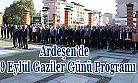 19 Eylül Gaziler Günü dolayısıyla Ardeşen'de Bir Dizi Etkinlik Düzenlendi
