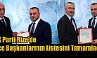 AK Parti Rize'de 2 İlçeye Başkan Atandı