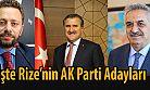 AK Parti Rize'de Adaylarını Açıkladı