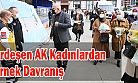 AK Partili Ardeşen Kadınlar Ev Yemeği İle Sağlık Çalışanlarına Destek Oldu