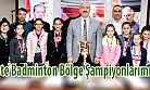 Ardeşen Alparslan Orta Okulunun Badminton Başarısı
