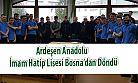 Ardeşen Anadolu İmam Hatip Lisesi Bosna'da