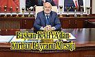 Ardeşen Belediye Başkanı Avni KAHYA, Kurban Bayramı münasebetiyle mesaj yayımladı.