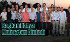 Ardeşen Belediye Başkanı Avni Kahya Mahalle Muhtarlarıyla bir araya geldi
