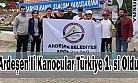 Ardeşen Belediyesi Kanocuları Türkiye 1.si Oldu