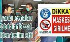 Ardeşen Belediyesi Maske Takımıyla İlgili Uyarı Broşürü Dağıttı