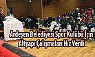 Ardeşen Belediyesi Spor Kulübü Sporcu Seçmelerine Yoğun İlgi