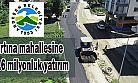 Ardeşen belediyesinden fırtına mahallesine 20.6 milyonluk yatırım