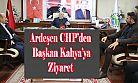 Ardeşen CHP'den Başkan Kahya'ya Ziyaret