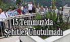Ardeşen Devlet Erkanı Şehit Kabrini Ziyaret Etti