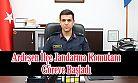 Ardeşen İlçe Jandarma Komutanı Ahmet Gökçay Göreve Başladı
