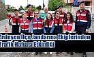 Ardeşen İlçe Jandarma Trafik Ekipleri Işıklı 60.Yıl İlk öğretim okulunda etkinlik yaptı.