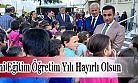 Ardeşen Kaymakamı Alibeyoğlu Yeni Dönem İçin Fatih İlkokulundaki Törene Katıldı