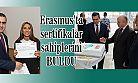 Ardeşen'de Erasmus Projesi Kapsamında Sertifika Töreni Düzenlendi