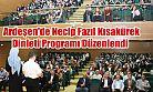 Ardeşen'de Necip Fazıl Kısakürek Dinleti Programı Düzenlendi