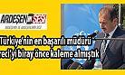Ardeşen'li Müdür Feyzullah Dereci Türkiye'nin En Başarılı İsmi