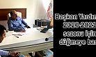 Başkan Yardımcı 2020-2021 sezonu için düğmeye bastı