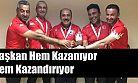 Başkan Yardımcı Masterler'de Altın Madalya Kazandı