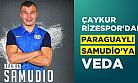 Çaykur Rizespor'dan sözleşmesi sonra eren Paraguaylı Samudio'ya veda