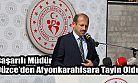Düzce Gençlik Hizmetleri ve Spor İl Müdürü Feyzullah Dereci, Afyonkarahisar'a atandı.